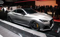 The AMG Project One is a multimillion-dollar hypercar that will melt your face with more than 1000 HP. Get the full details at Car and Driver. Infiniti Q50 Sport, Q50 Red Sport, Cars Usa, Mercedes Amg, Concept Cars, Cool Cars, Dream Cars, Nissan, Super Cars