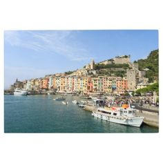 Metal Print: Portovenere Italy Metal Print - metallic style stylish great personalize