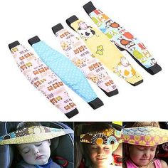 Popular Safety Car Seat Sleep Nap Aid Baby Kids Head Support Holder Belt CA ED