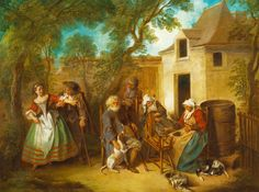 Nicolas Lancret, «The Four Ages of Man: Old Age»