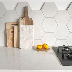 Brighton Stone Hexagonal Tile is part of Bert & May's handmade cement tile collection. Shop our range of quality tiles in plain or patterned styles, created using natural pigments. Hexagon Tile Backsplash, Hexagon Tile Bathroom, Splashback Tiles, Hexagon Tiles, Modern Kitchen Tiles, Kitchen Wall Tiles, Kitchen Colors, Kitchen Backsplash, Backsplash Ideas