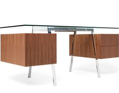 Eames Rectangular Laminate Top Table for Herman Miller. In 1964, the office of Charles and Ray Eames designed a table with a single segmented base, constructed of modular units, that could support tops of different lengths and widths.
