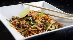Varm kylling Thai salat
