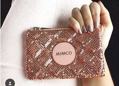 #mimco #rosegold My Style Bags, Rose Gold Watches, Workout Accessories, Love Rose, Pure Beauty, Clutch Purse, Gold Jewelry, Jewellery, Purses And Bags