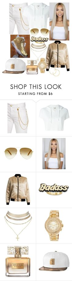 """""""💰Money maker💰"""" by k-capers ❤ liked on Polyvore featuring Pierre Balmain, Calvin Klein Jeans, Victoria Beckham, Sans Souci, Steve Madden, Charlotte Russe, MICHAEL Michael Kors, Givenchy and Puma"""
