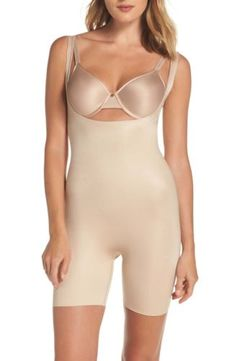 600508a1353f2 (NWT SPANX Power Conceal-Her Open Bust Bodysuit Designed to be worn over  your bra