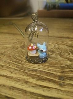 a woodland scene necklace £13.00