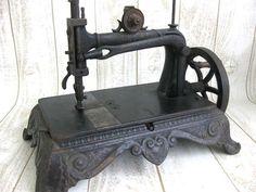 Brunonia ~ Antique sewing machine