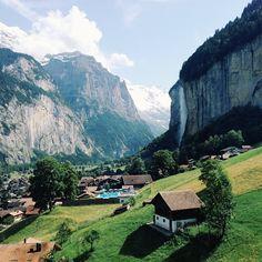 Lauterbrunnen in Switzerland / photo by Leila Peterson