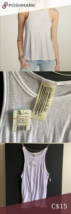 Free People Long Beach Tank Brand New with Tags. Tags says small but can fit medium or large. Beach Tanks, Loose Tank, Plus Fashion, Fashion Tips, Fashion Trends, Long Beach, Free People Tops, Top Colour, Brand New