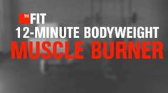 12-Minute Bodyweight Muscle Burner