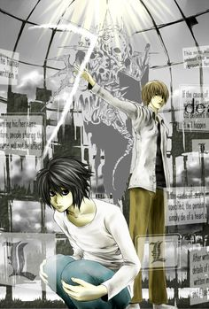 VS by けい - Death Note - L / Light