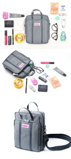 Keep your cosmetics, makeup, and daily necessities all in one place with this nifty organizer! The Better Together Daily Bag will keep all of your belongings safe and organized when you're on the go or traveling. The endless pockets in a compact package will allow you to travel in a whole new way, so check it out!
