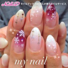 #ハンド #グラデーション #ホワイト #my_nail #ネイルブック