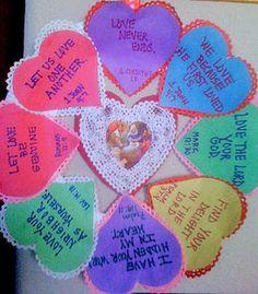 Scripture Wreath For Valentine S Day Crafts Kids Sunday School Children