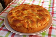 Braided Bread, Cheese Pies, Homemade Cheese, Garlic Bread, Greek Recipes, Apple Pie, Food Art, Food And Drink, Appetizers