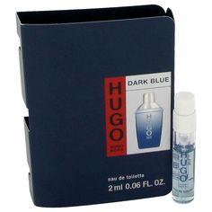 DARK BLUE by Hugo Boss Vial (sample) .04 oz