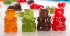 Homemade gummie bears.  I've always had a sweet tooth, and I'm proud of it! Sure, I try not to overindulge in too many sweets, but it's unlikely that I'll ever turn down a sugary treat when offered. After all, it's just good manners! That said, whenever possible, I try to skip out on store-bought desserts in favor of...