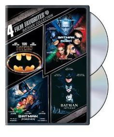 Amazon.com: 4 Film Favorites: Batman Collection (Batman / Batman Forever / Batman and Robin / Batman Returns): Michael Keaton, Tim Burton, J...