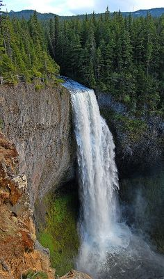 Salt Creek Falls, Oregon -- saw it in winter. Beautiful!