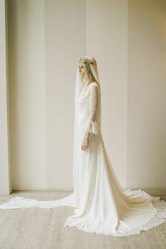 Vestido de novia encaje Bridre dress lace Robe du Mariée