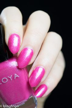 Zoya Azalea from the Petals Collection. http://www.blingfinger.net/2016/03/zoya-petals-collection.html