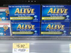 New $2 Aleve Printable Coupon PLUS Scenarios!