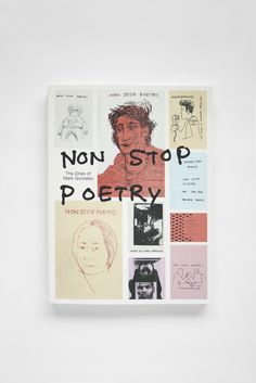 Non Stop Poetry via PLUS PAST. Click on the image to see more! #nonstoppoetry #mark #gonzales #fanzine