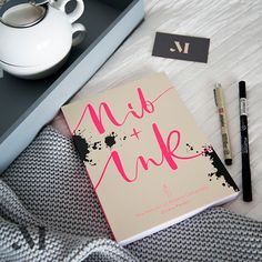 Nib + Ink Modern Calligraphy Book by Chiara Perano. Picture by Modern Calligraphy, Something Beautiful, Guide Book, Ink, Writing, Learning, Instagram Posts, Books, Pictures