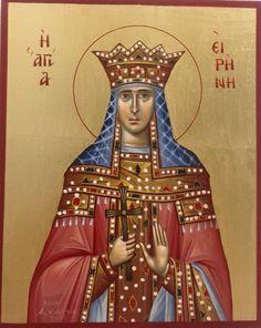 St G, Byzantine Icons, Orthodox Icons, Princess Zelda, Disney Princess, Disney Characters, Fictional Characters, Saints, Aurora Sleeping Beauty