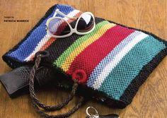 Cinco de Mayo Tote #Bag #Totes #Purse #Free #Knitting #Pattern