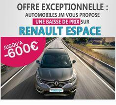 remise de 600€ sur Renault espace