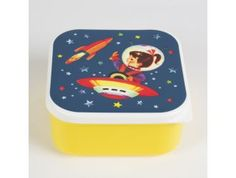 lunchbox vierkant 'Woodland Friends Fox'