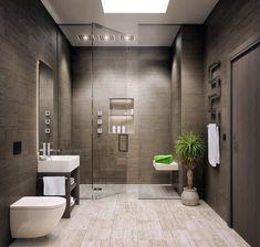 Modern Bathroom Design Ideas - Pictures of Contemporary Bathroom - Interior Designs Modern Master Bathroom, Modern Bathroom Decor, Bathroom Layout, Bathroom Styling, Bathroom Interior Design, Bathroom Ideas, Bathroom Designs, Minimalist Bathroom, Bathroom Organization