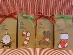 christmas goodie and treat bags natural bag by thepirdiebirdie 1800