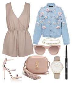 """""""305."""" by plaraa ❤ liked on Polyvore featuring ASOS, New Look, Anouki, Giuseppe Zanotti, Yves Saint Laurent, STELLA McCARTNEY, CLUSE and Chanel"""