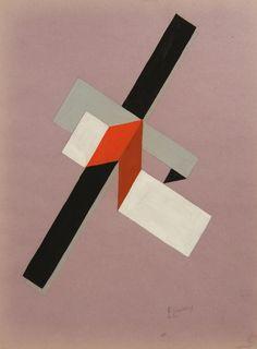 Lissitsky, 1922, ilustrador constructivista, baseia-se em revoluções e…
