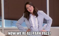 I went into season four last time. Five was another season I remember being largely complained about, mostly due to the exaggeration of the flaws or quirks of our Pawnee gang. Parks And Recreation Show, Parks N Rec, Beautiful Tropical Fish, April Ludgate, Halloween Adventure, Love Park, Aubrey Plaza, Ron Swanson, Tv Episodes