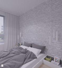 MIESZKANIE DO WYNAJĘCIA 31m2 WARSZAWA - Sypialnia, styl industrialny - zdjęcie od THE VIBE