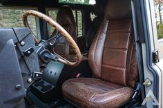 Land Rover Defender 90 and 110 for sale and build to order to USA, Canada. Land Rover Defender 130, Defender Camper, Land Rover Series 3, Defender 90, Landrover Defender, Car Interior Accessories, Jeep Accessories, Car Restoration, Station Wagon