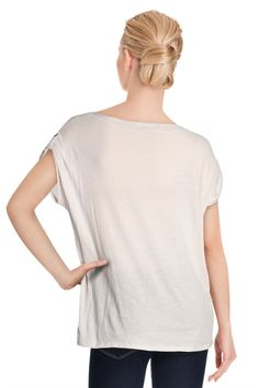 Vente Somewhere / 11982 / Tops / Tops Manches Courtes / T-Shirt Gris