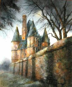 Marc Chapaud 1941 | French landscape painter | Tutt'Art@ Outdoor Life, Beautiful Paintings, Art And Architecture, Contemporary Art, France, Landscape, Artist, Artwork, Eye
