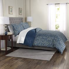 Soften your modern-day sleep space with this Stillwater duvet cover set from SONOMA Goods for Life. In blue. Bedding Master Bedroom, Closet Bedroom, Sonoma Goods For Life, California King, Bedding Collections, Duvet Cover Sets, Modern, House, Furniture