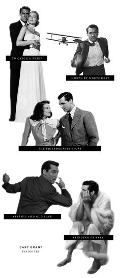 Cary Grant Movies from Note to Self