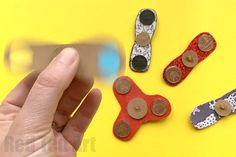 If you are Fidget Spinner CRAZY, you must try this Fidget Spinner DIY. It is the easiest Fidget Spinner DIY I have seen on the internet and REALLY WORKS.