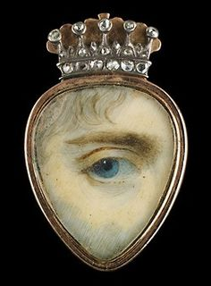 eye miniature with crown
