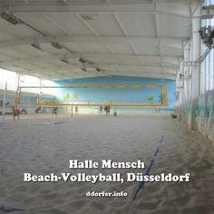 Beach Volleyball in #Düsseldorf, zum Beispiel im Indoor-Kletterspielplatz Halle Mensch http://duesseldorf-fuer-kinder.de/ausflugsziele/eintrag/halle-mensch