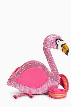 Pink Flamingo Cross Body Bag