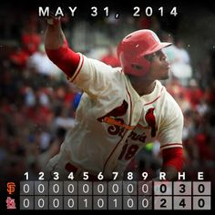 Taveras goes deep, Wacha strikes out 7 as Cardinals defeat Giants 2-0.