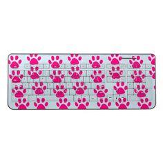 Shop Dog Prints Designer Wireless Keyboard - Pink & Blu created by libertydogmerch. Dog Lover Gifts, Dog Lovers, Dog Design, Print Design, Dog Prints, Design Your Kitchen, Dog Store, Cocker Spaniel, Dog Art
